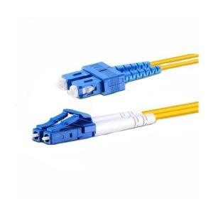 Fiberoptik 3m SM SC-UPC to LC-UPC kabel