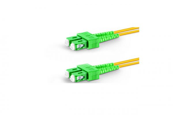 Fiberoptik 1m SM SC-APC to LC-APC kabel